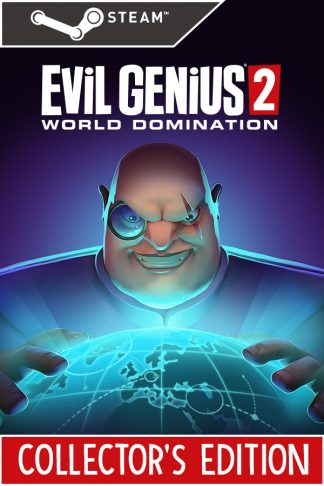 Evil Genius 2 Collector's Edition Steam Cover