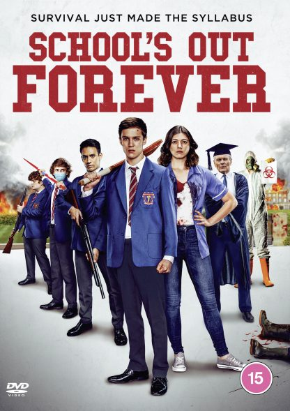 DVD cover featuring School's Out Cast