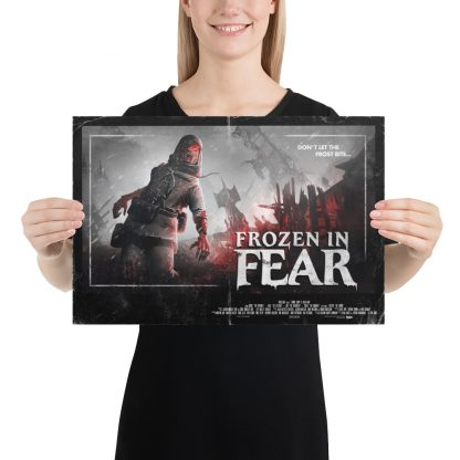 12 x 18 inch poster of Zombie Army 4 Frozen in Fear artwork