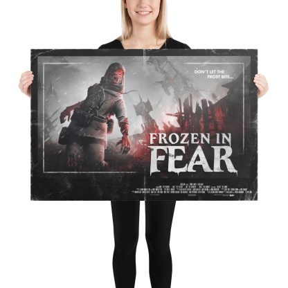 24 x 36 inch poster of Zombie Army 4 Frozen in Fear artwork