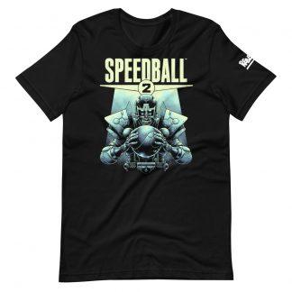 Deluxe T-shirt in black of Speedball 2