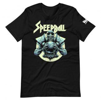 T-shirt in black featuring Speedball