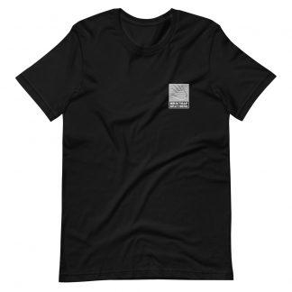 Bitmap Brothers Logo (White Print) T-shirt Black (Front)
