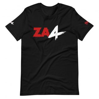 T-shirt in black featuring Zombie Army 4 logo